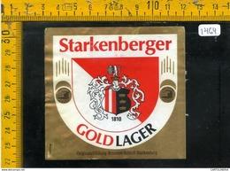 Etichetta Birra Starkenberger - Birra