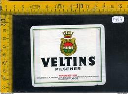 Etichetta Birra Veltins - Birra