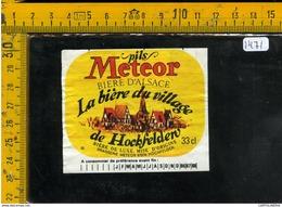 Etichetta Birra Pils Meteor - Birra