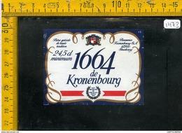 Etichetta Birra Kronenbourg - Birra