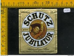 Etichetta Birra Schutz Jubilator - Birra