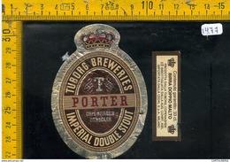 Etichetta Birra Tuborg Breweries - Birra