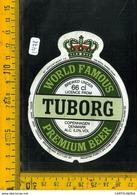 Etichetta Birra Tuborg - Birra