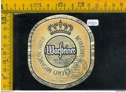 Etichetta Birra Warfteiner - Birra