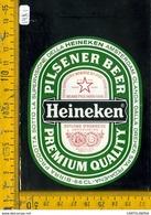 Etichetta Birra Heineken - Birra