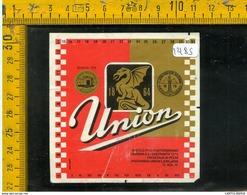 Etichetta Birra Union - Birra
