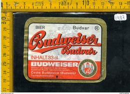 Etichetta Birra Budweiser - Birra