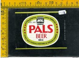Etichetta Birra Pals - Birra