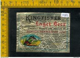 Etichetta Birra Kingfisher - Birra