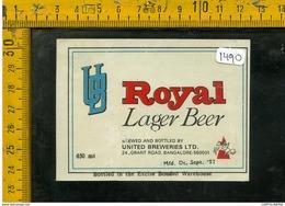 Etichetta Birra Royal - Birra