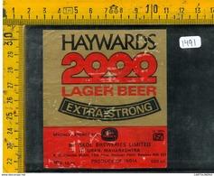 Etichetta Birra Haywards 2000 - Birra