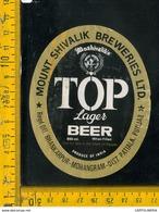 Etichetta Birra Top Lager - Birra