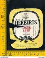 Etichetta Birra Herberts (conciato) - Birra