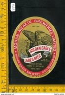 Etichetta Birra Golden Eagle - Birra