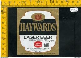 Etichetta Birra Haywards - Birra