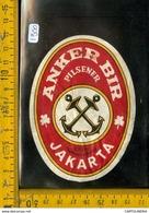 Etichetta Birra Anker Jakarta - Birra