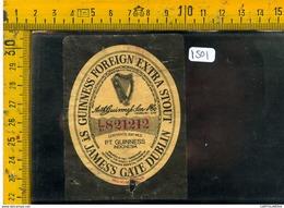 Etichetta Birra Guinness Indonesia - Birra
