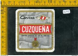 Etichetta Birra Cuzquena Perù - Birra