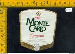 Etichetta Birra Monte Carlo Guatemala - Birra