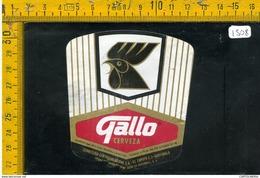 Etichetta Birra Gallo Guatemala - Birra