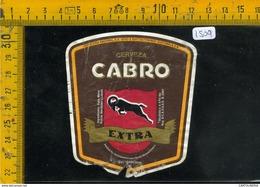 Etichetta Birra Cabro Extra Guatemala - Birra