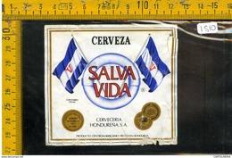 Etichetta Birra Salva Vida Honduras - Birra