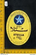 Etichetta Birra Stella - Birra