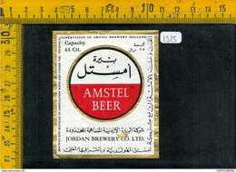 Etichetta Birra Amstel Jordan - Birra
