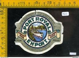 Etichetta Birra Port Royal - Birra