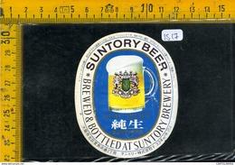 Etichetta Birra Suntory Beer - Birra