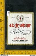 Etichetta Birra China Peking Beer - Birra