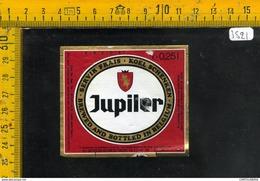 Etichetta Birra Jupiler Belgio - Birra