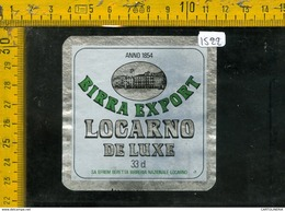 Etichetta Birra Locarno De Luxe - Birra
