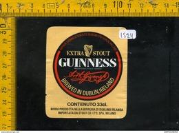 Etichetta Birra Guinness Dublin Irlanda - Birra