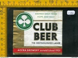 Etichetta Birra Club Beer - Birra