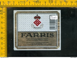 Etichetta Birra Farris - Birra