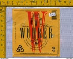 Etichetta Birra Wuhrer - Birra
