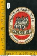 Etichetta Birra Three Horses Beer Madagascar - Birra