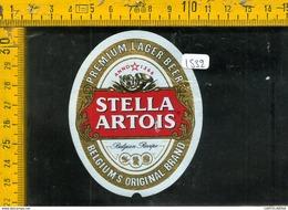 Etichetta Birra Stella Artois Belgio - Birra