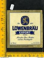 Etichetta Birra Lowenbrau - Birra