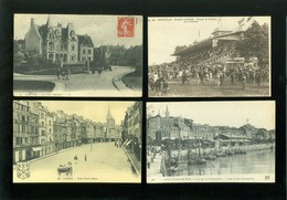 Lot De 60 Cartes Postales De France    Lot Van 60 Postkaarten Van Frankrijk  - 60 Scans - Postcards
