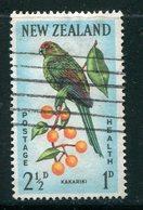 NOUVELLE-ZELANDE- Y&T N°411- Oblitéré - Parrots