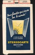 Stereocarte Bruguiere, 2329, Gorges Du Loup 1 - Stereoscopi