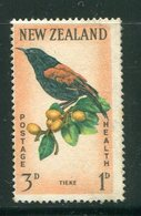 NOUVELLE-ZELANDE- Y&T N°412- Oblitéré - Birds