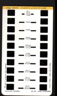 Stereocarte Lestrade, 1702, Chamonix, La Mer De Glace - Visionneuses Stéréoscopiques