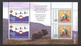 Groënland 1993 Bloc 4  Neuf Croix Rouge - Blocs