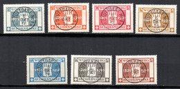 Col11   Allemagne Wurtemberg Service N° 71 à 77 Oblitéré Cote 30,00 Euros - Wurtemberg