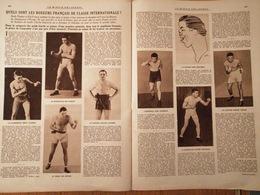 1927 BOXE - LES BOXEURS FRANÇAIS DE CLASSE INTERNATIONALE - Books, Magazines, Comics