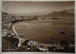 Napoli // Angeli Terni Carte Photo 10x15 // Panorama  1938 - Napoli (Napels)