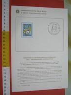 D.01 BOLLETTINO ILLUSTRATO ANNOUNCEMENT POST ITALIA - 1985 ROMA INFORMAZIONE GIORNALISTICA GIORNALE IDIOMA SCRITTURA - Idioma